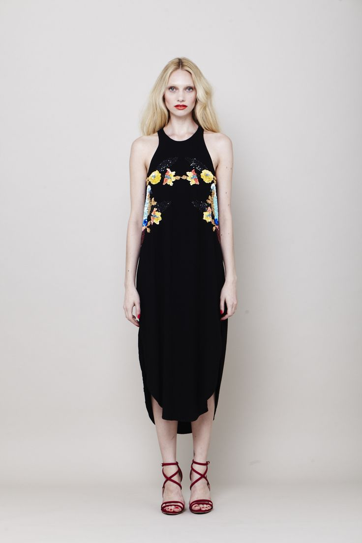 Wonder print maxi dress | Summer 13