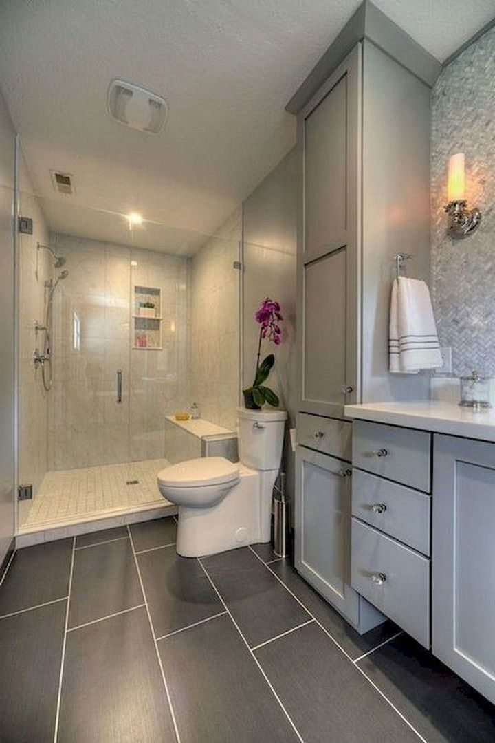 95 Nice Small Full Bathroom Layout Ideas 46
