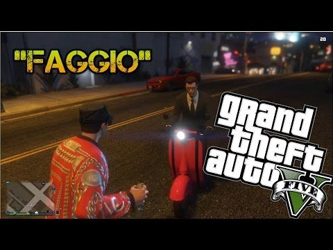 GTA Online - Faggio Drive By, New Threads & High Speed Chase (online funny moments) - YouTube