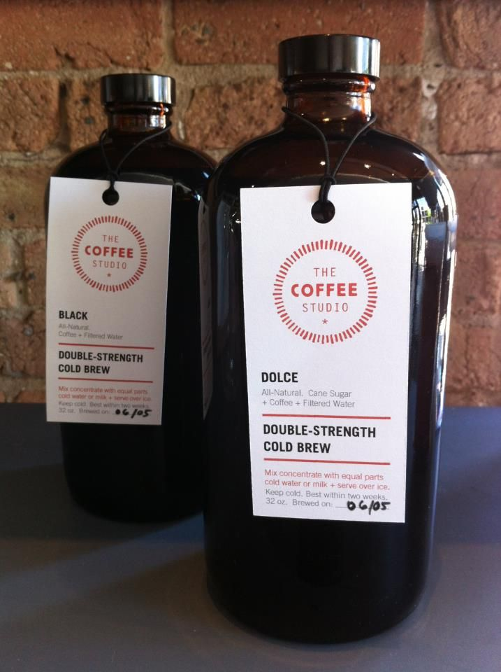 Keep the party going with friends after dinner has been served by picking up a bag of beans or a bottle of cold brew from The Coffee Studio. #Andersonville