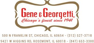 Gene And Georgetti Rosemont - Gene And Georgetti  Unity in Community EvenT Sponsor