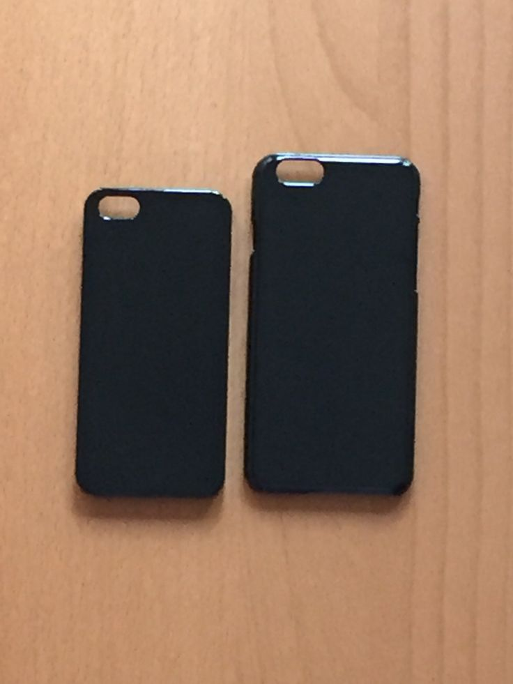DIY black hard plastic for iphone 5/5s case or iphone 6 case. for bling deco phone and decoden. carcasa negra de plástico de phonecasesmyladies en Etsy
