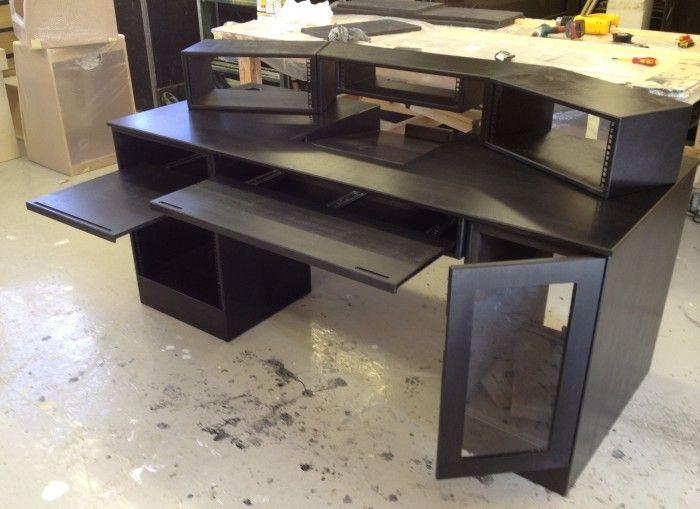 recording studio desk cheap studio home studio desk recording studio desk studio furniture. Black Bedroom Furniture Sets. Home Design Ideas
