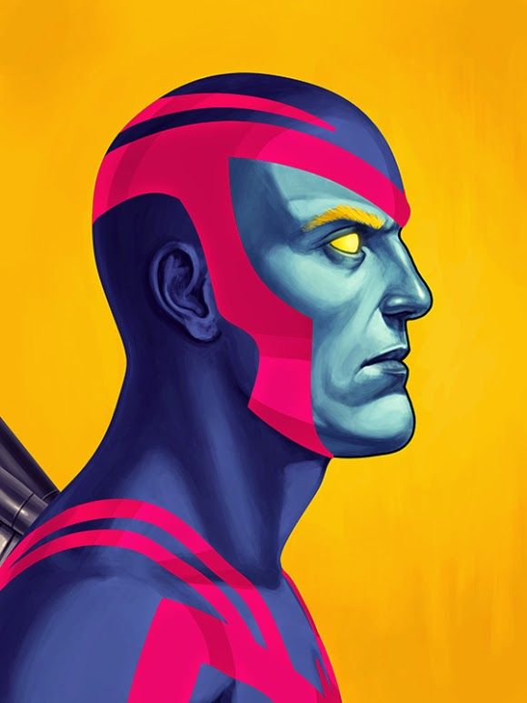 Marvel Illustrations by Mike Mitchel