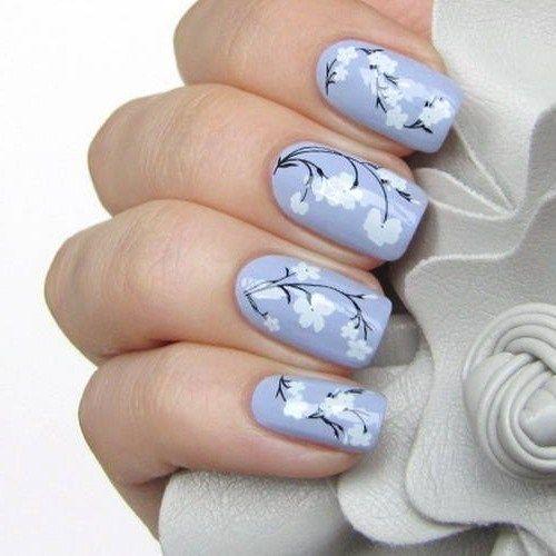 169 best nail design ideas images on pinterest beauty enamel flower nails 2014 for more stuff visit httpnaildesignsidea prinsesfo Gallery