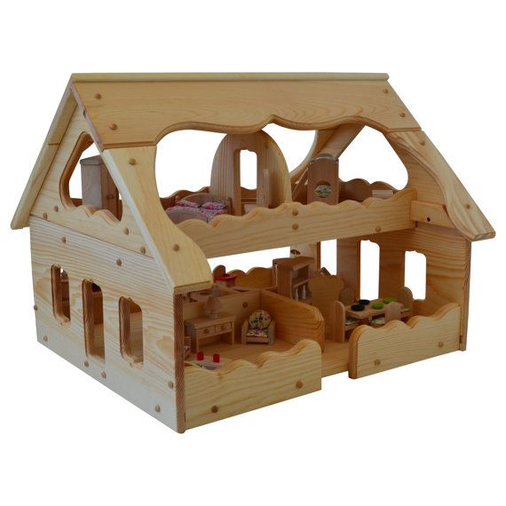 Best 25 Wooden Dollhouse Ideas On Pinterest Diy Dollhouse Popsicle House And Diy Doll House