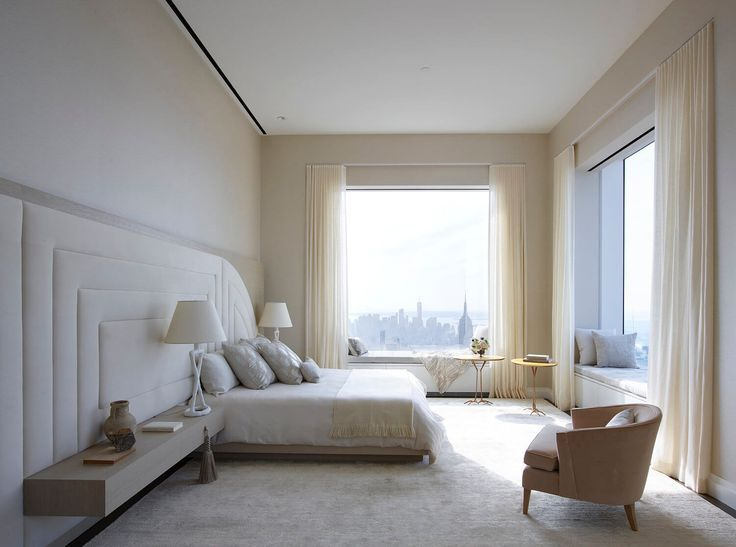 New York The World S Tallest Penthouse By Kelly Behun Chambre A Coucher Design Decoration Chambre Chambre Design