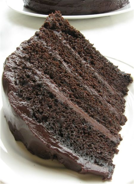 Chocolate fudge cake recipe with dark chocolate