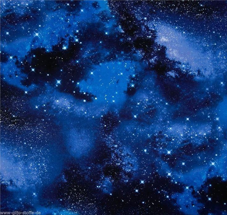 Timeless Treasures Galaxy Patchworkstoffe Stoffe Sterne Meterware Sternenhimmel