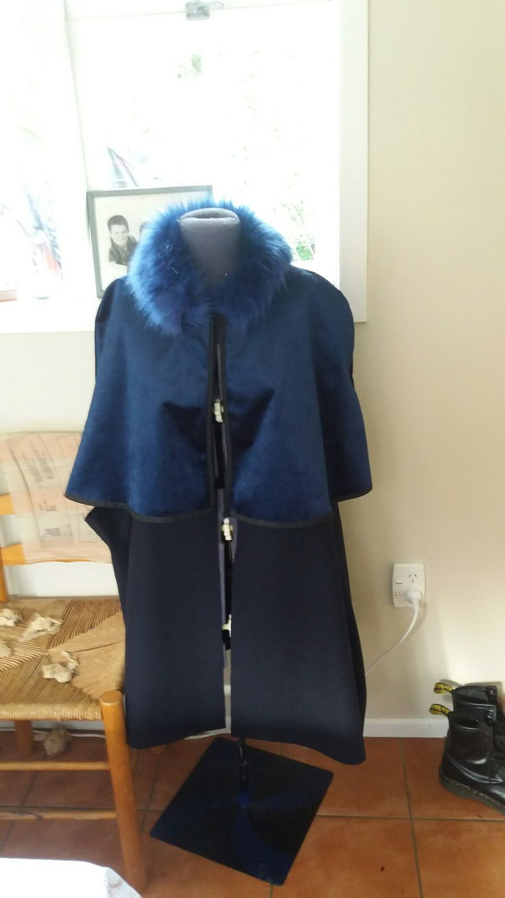 Wool,velvet, and fur. It will be warm and blue this winter.