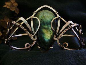 Создание браслета в двемерской тематике «Черный предел»   Ярмарка Мастеров - ручная работа, handmade