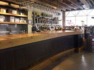 Bar Countertops | Bar Tops   Wood Bar Counter Tops: Elmwood Reclaimed  Timber. Restaurant Interior DesignRestaurant ...
