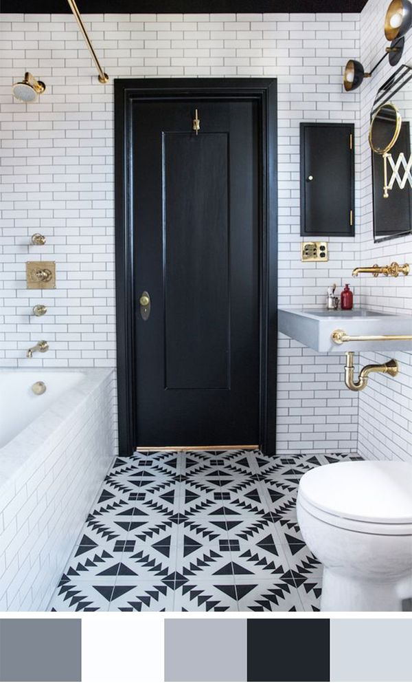 111 worlds best bathroom color schemes for your home subway tile