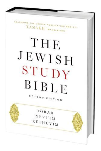 The Jewish Study Bible: Second Edition by Adele Berlin http://smile.amazon.com/dp/0199978468/ref=cm_sw_r_pi_dp_Bb8Rwb03FVDNE