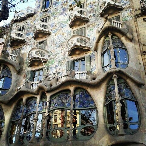 Casa Batlló-Gaudí Barcelona