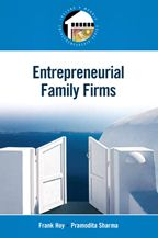Cote : 112.36 HOY. There is more to family business management than what is taught in the traditional business curriculum. Entrepreneurial Family Firms provides an understanding of how to handle the intricate dynamics of the family and how to successfully launch, join or lead entrepreneurial ventures in which family is involved.