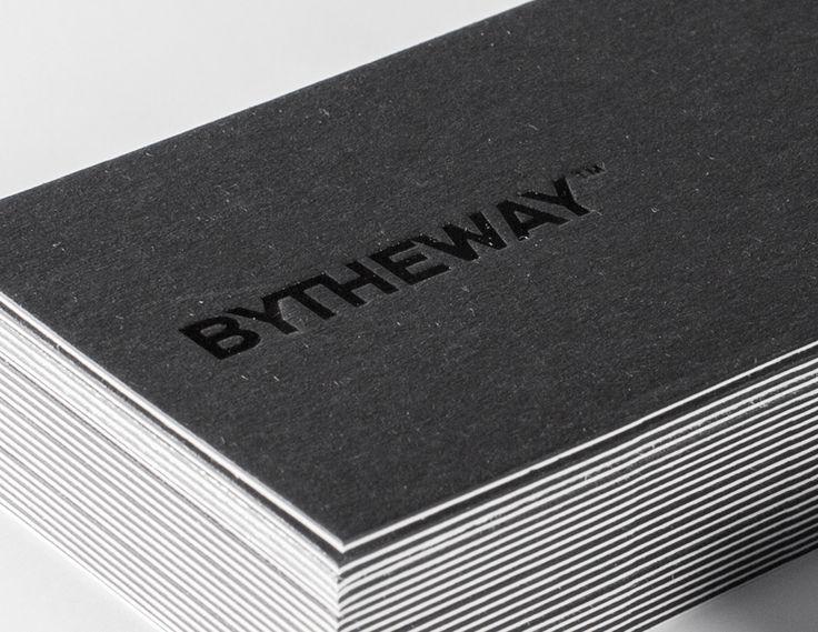 """Auf @Behance habe ich dieses Projekt gefunden: """"2016 BY Business Card""""…"""