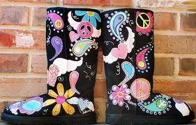 diy painted ugg boots - Google Search