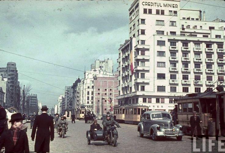 Bulevardul Take Ionescu in 1941.