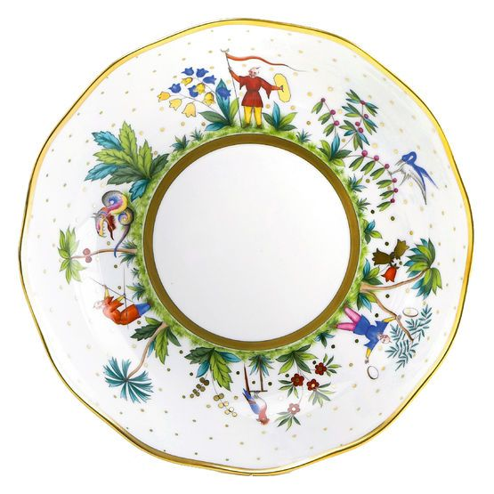 \ Forains d\u0027Orient\  dinner plate ...  sc 1 st  Pinterest & 30 best Chinoiserie Tableware and Place Setting images on Pinterest ...