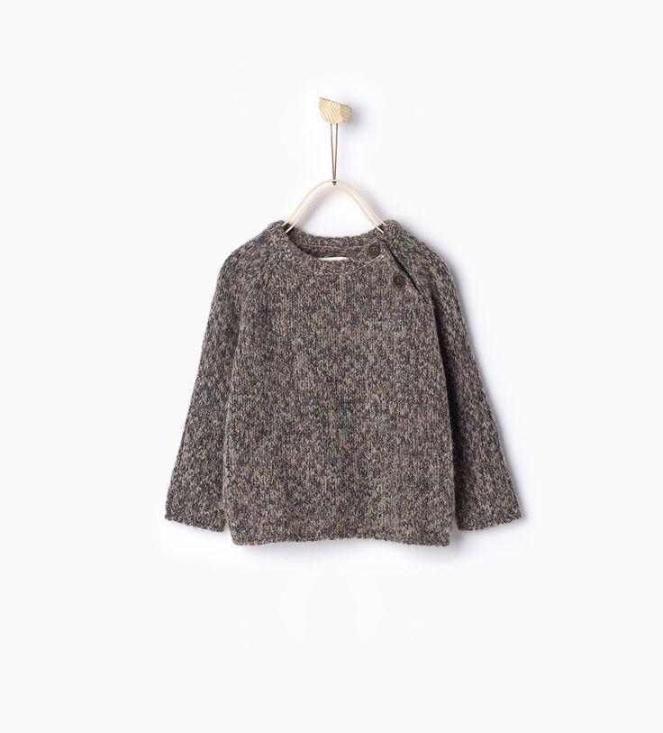Knit elk sweater-Sweaters & Cardigans-Baby boy-Baby   3 months - 3 years-KIDS   ZARA Canada