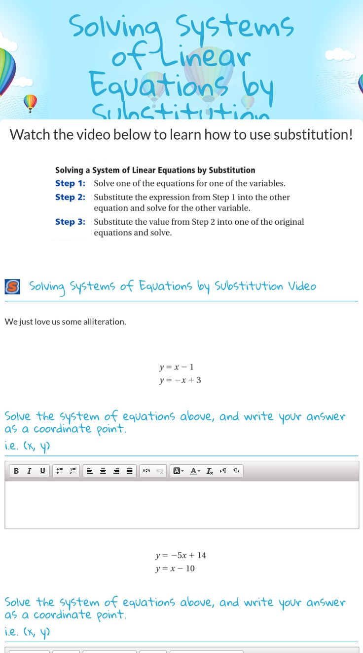 Uncategorized Interactive Math Worksheets 17 best images about free math worksheets on pinterest equation wizer me interactive blended worksheet solving systems of linear equations by substitution teacher meghann urewic