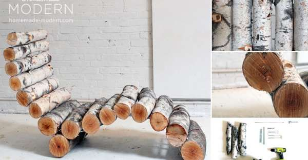How To Make Your Own Log Lounger