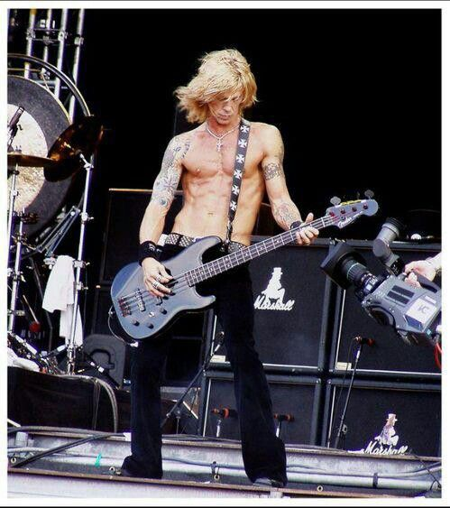 Duff Mckagan. Still hot and a cool guy.