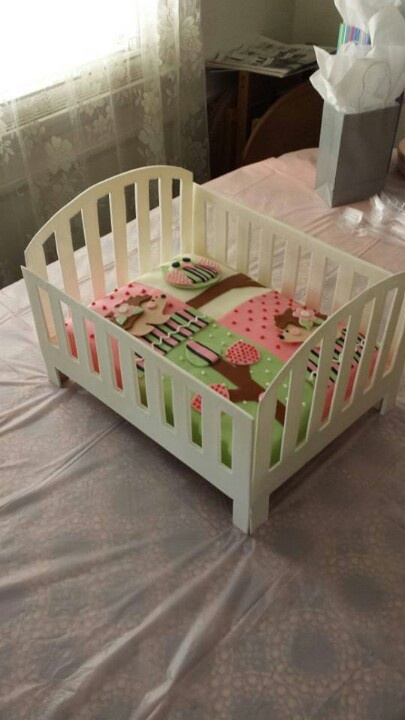Baby Crib Toppers For Cakes