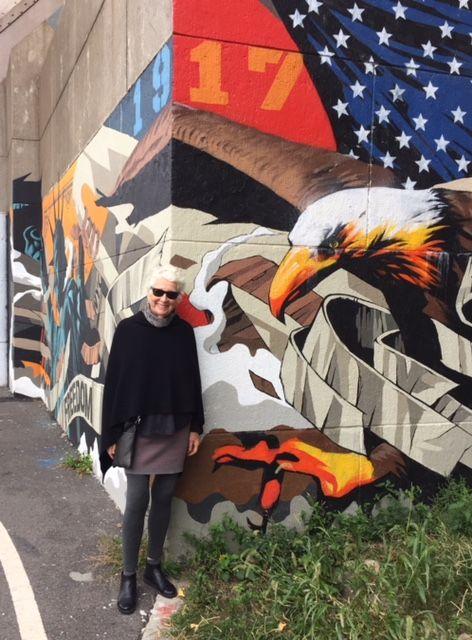 joanheaton519blog: The Hell Gate Bridge at Astoria New York