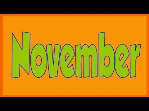 Days of the week...months of the year songs