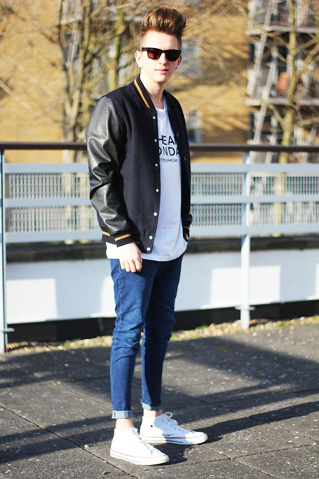 Baseball Jacket Style - Coat Nj