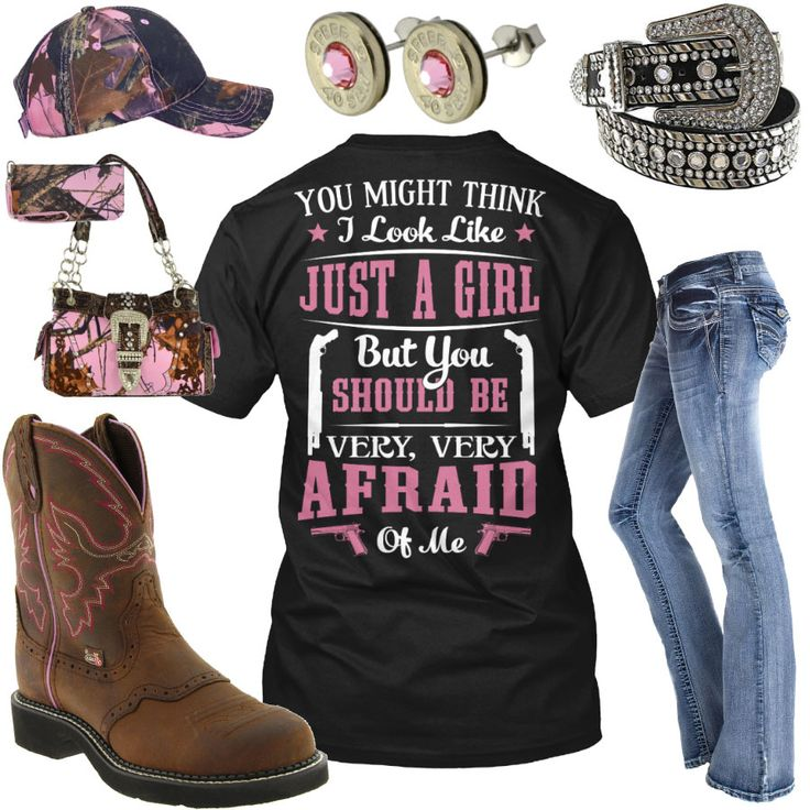 You Should Be Very, Very Afraid Of Me Outfit - Real Country Ladies