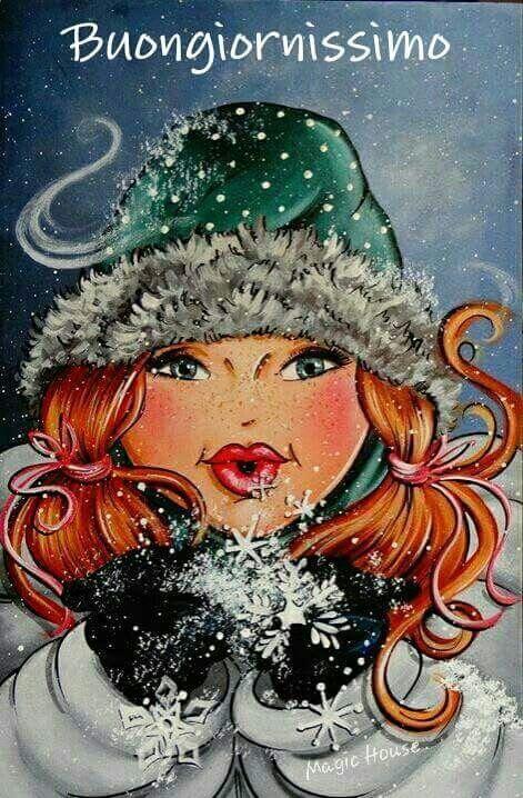 Buongiorno con neve