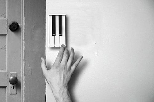 Piano Doorbell. Crazy Cool Inventions You Need In Your Life • Page 5 of 7 • BoredBug