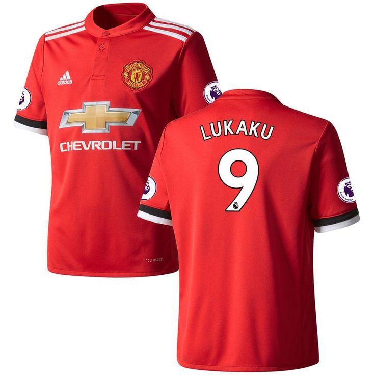 Romelu Lukaku Manchester United adidas Youth 2017/18 Home Replica Patch Jersey - Red