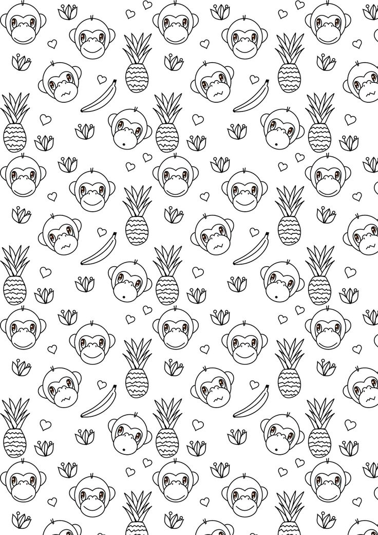 83 Coloring Pages For Year Of The Monkey