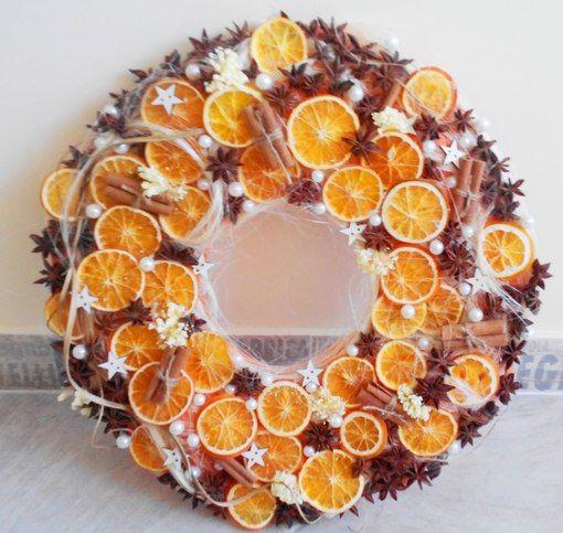 венок из шишек с апельсинами - Поиск в Google