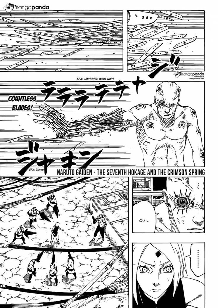 Naruto Gaiden: The Seventh Hokage 9 - Page 1