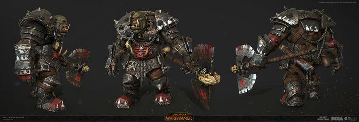 ArtStation - Grn Grimgor Ironhide , Vlad Costin