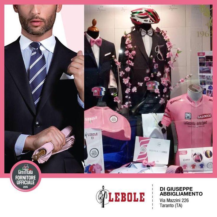 DI GIUSEPPE ABBIGLIAMENTO, Taranto - I nostri Clienti festeggiano il Giro d'Italia 2015 e presentano l'abito esclusivo prodotto da LEBOLE per il Giro #lebolegiro2015 #lebole #abito #modauomo #fashion #stile