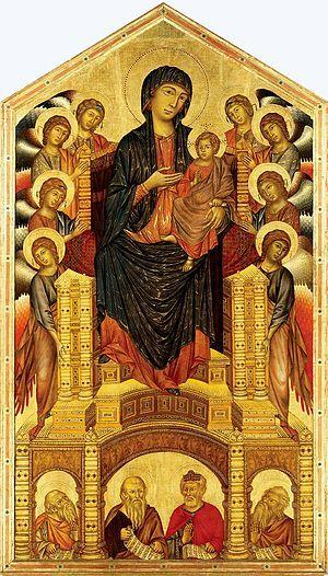 Santa Trinita Maestà - Cimabue