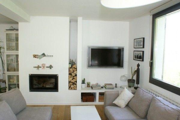 Les 78 meilleures images propos de cheminee sur for Decoration maison petite surface