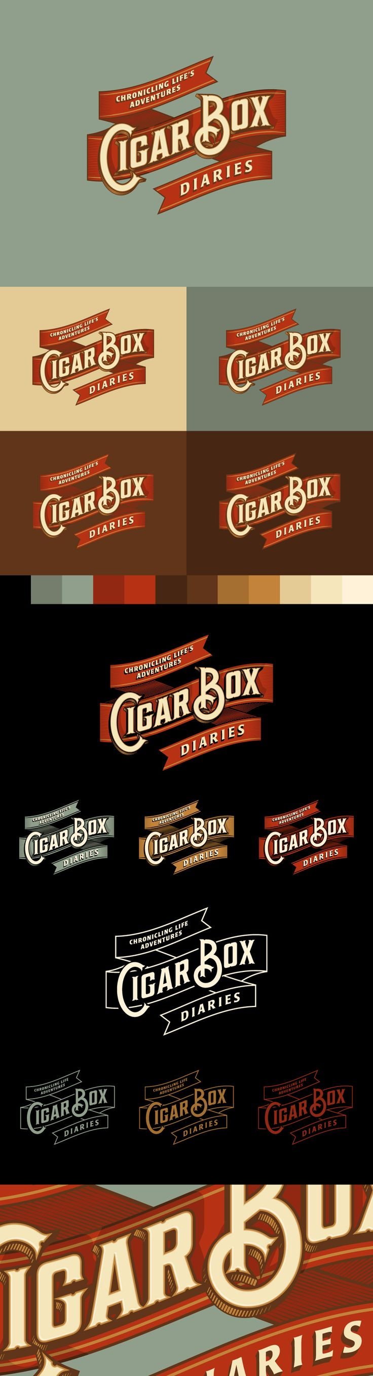 Alex Rinker Beautiful examples of full branding packages. It is amazing what a…