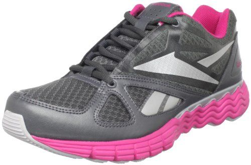Reebok Women's SolarVibe Running Shoe,Tar/Pure Silver/Overtly Pink,6.5 M US Item# 6604 - Click image twice for more info - See a lrager selection of women running shoes at http://www.zbestsellers.com/level.php?node=144&title=womens-running-shoes - woman, womans fashion, running shoes, outdoor, gift ideas