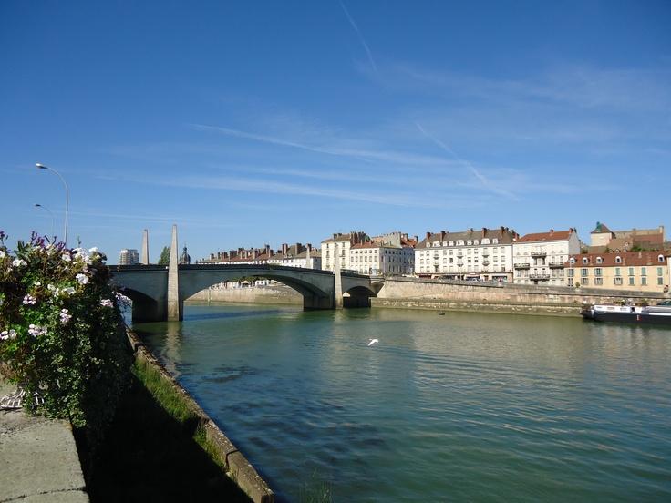 La Saône à Chalon-sur-Saône