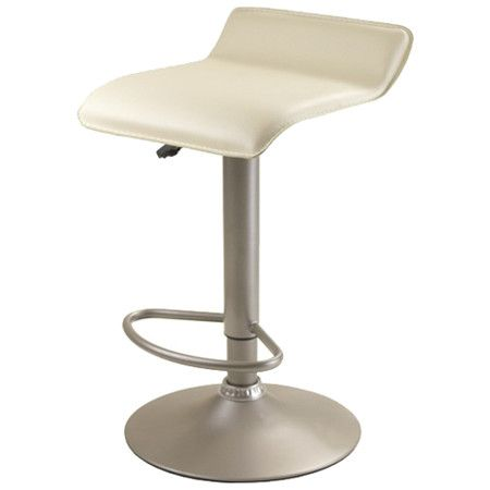 Airlift Adjustable Height Bar Stool with Cushion