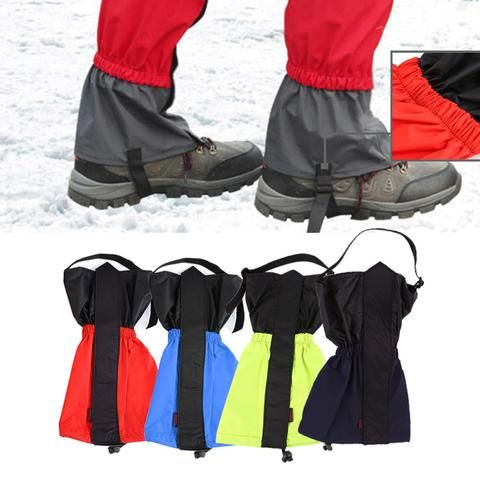 Hiking Snow Legging Gaiters 1 pair - 4 Colors & 2 Size Options - Weekend Tactial Supply