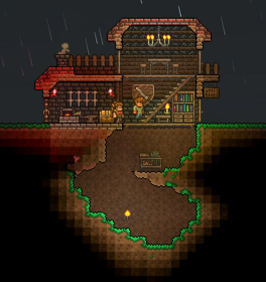 17 Best Images About Terraria Base Inspiration On