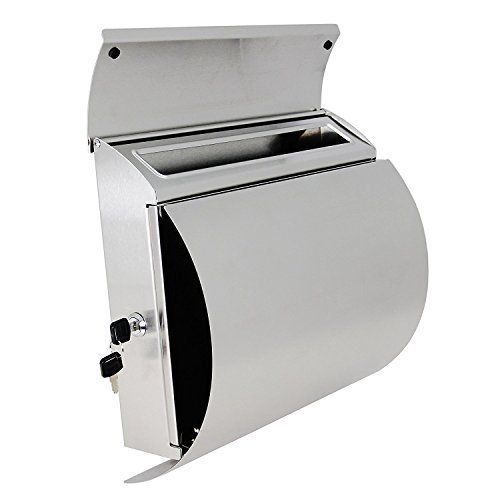 MPB027 New Semi Curve Lockable Mailboxes Stainless Steel